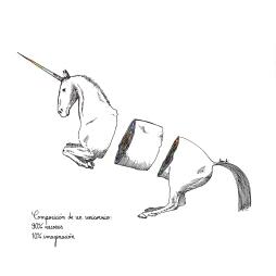 Composición de un unicornio