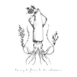En vez de flores le dio calamares