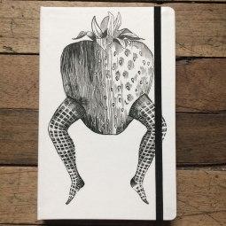 libretas himallineishon Fresa con patas
