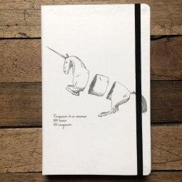 libretas himallineishon Composicion de un unicornio